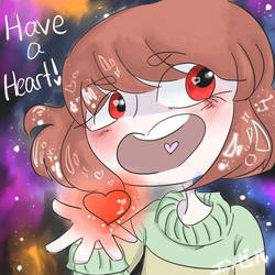 Have a heart~! by InsaneRainbowDrops
