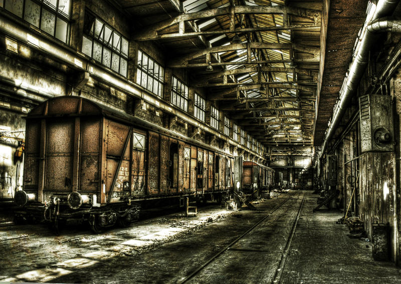 industrial wallpaper decay - photo #5
