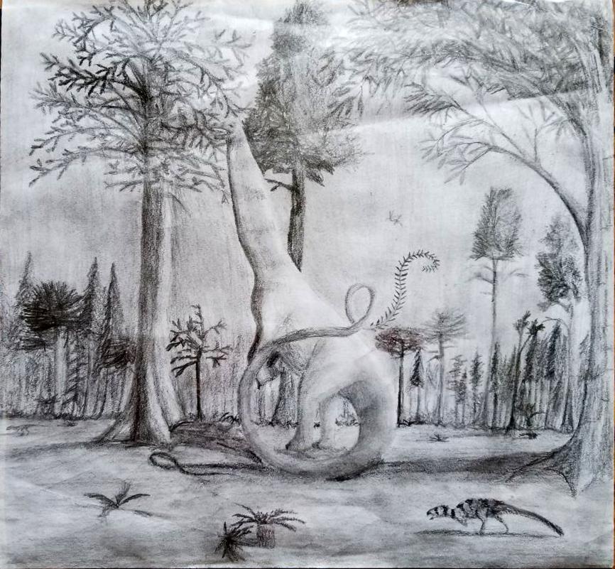 Apatosaurine by Flishstar