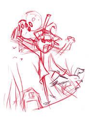 Scarecrow-obra para concurso by ruth2m