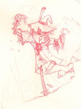 Scarecrow pencilSKETCH