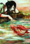 El dios del rio, painting