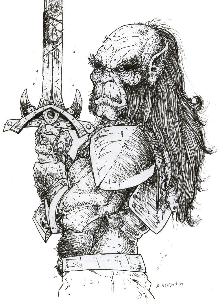 hobgoblin holy knight by hypnoid on deviantart