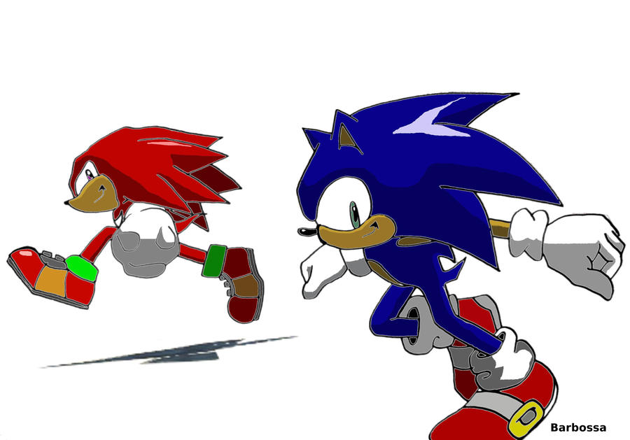 Sonic Heroes by NiniBarbossa