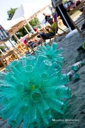 Dandelion Bottle Art