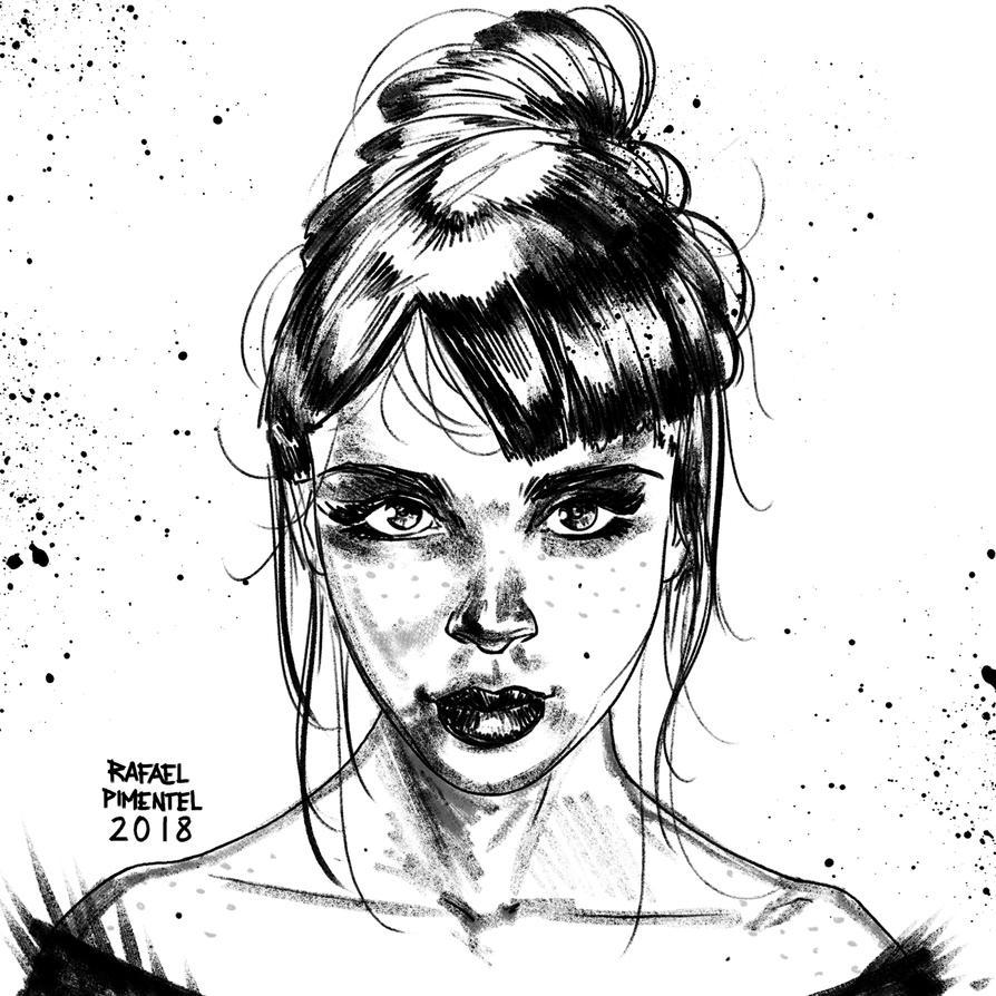 Coffee time sketch by rafaelpimentel