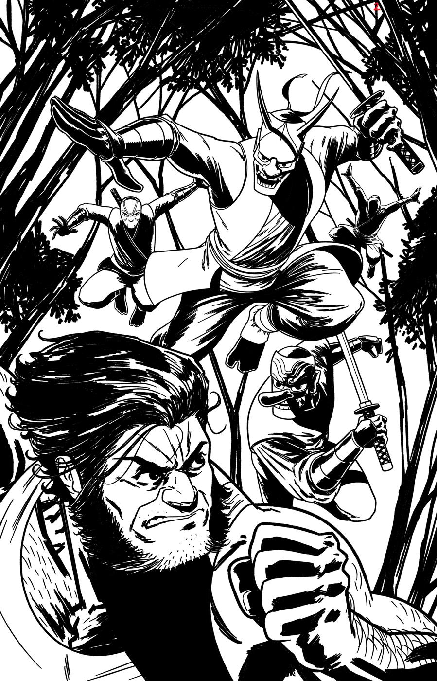 Wolverine sample page 02 by rafaelpimentel