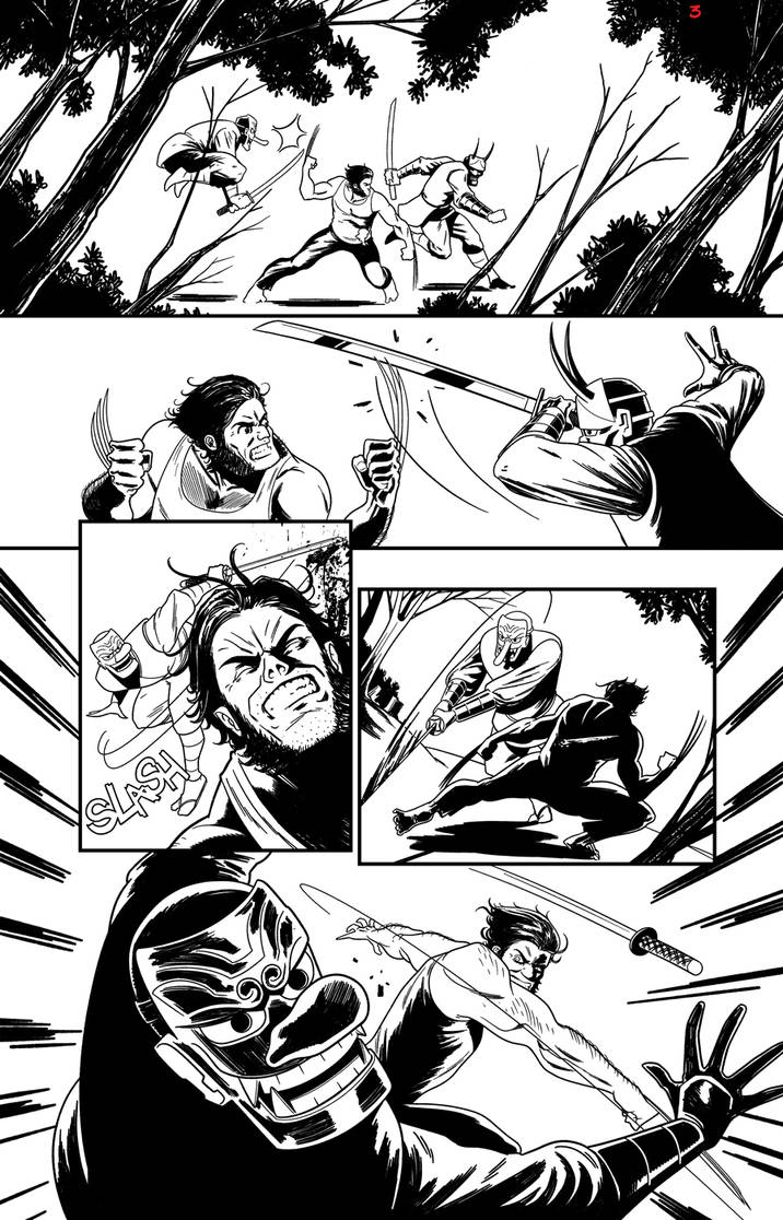 Wolverine sample page 03 by rafaelpimentel