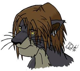 A Lion At Heart by ninjaisonfire