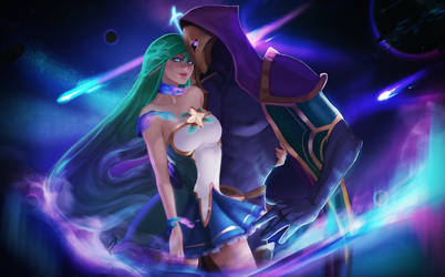 The Stars are watching us - Soraka x jhin