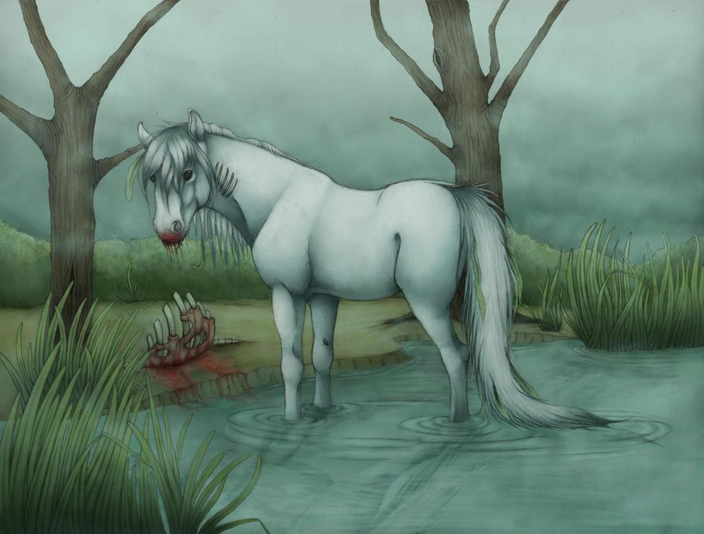 Must see   Wallpaper Horse Deviantart - the_kelpie_by_triksilverwolf-d6fvwu6  Image_312933.jpg