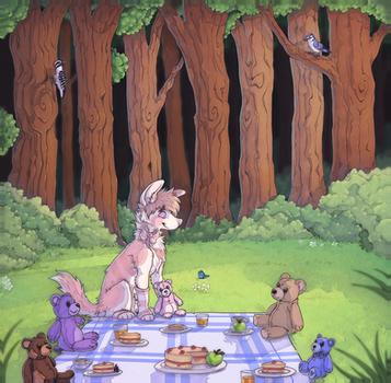 Teddy bear's picnic by trik-s
