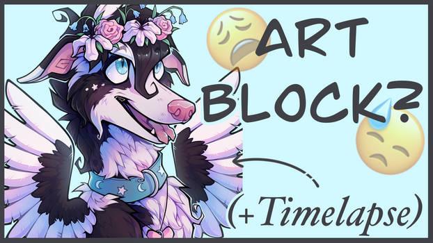 How To Beat Art Block Video
