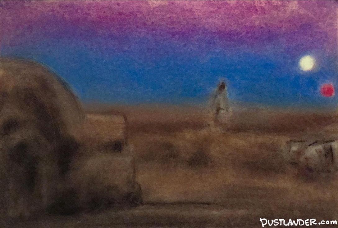 Tatooine Landscape by Dustlander