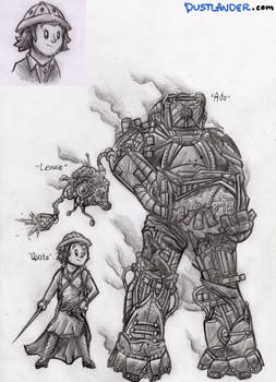 THE STEAMPUNKS: Characters