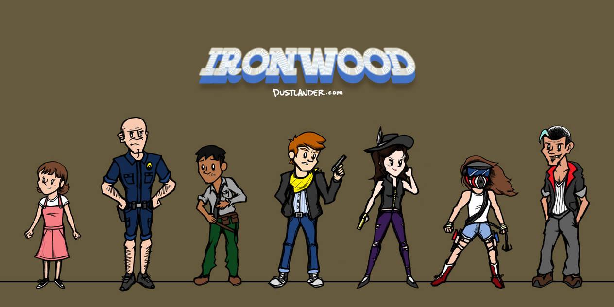 IRONWOOD: Main Cast by Dustlander