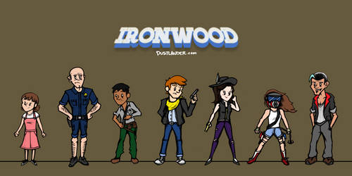 IRONWOOD: Main Cast