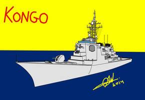 Kongo - Class Destroyer by HummerH3