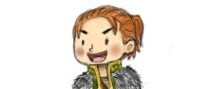 Chibi Anders by EvilDemonKitty