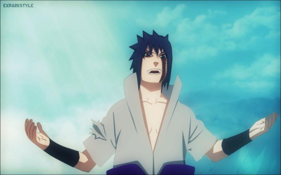 Naruto 485 Sasuke Fighting By Exdarkstyle On DeviantArt
