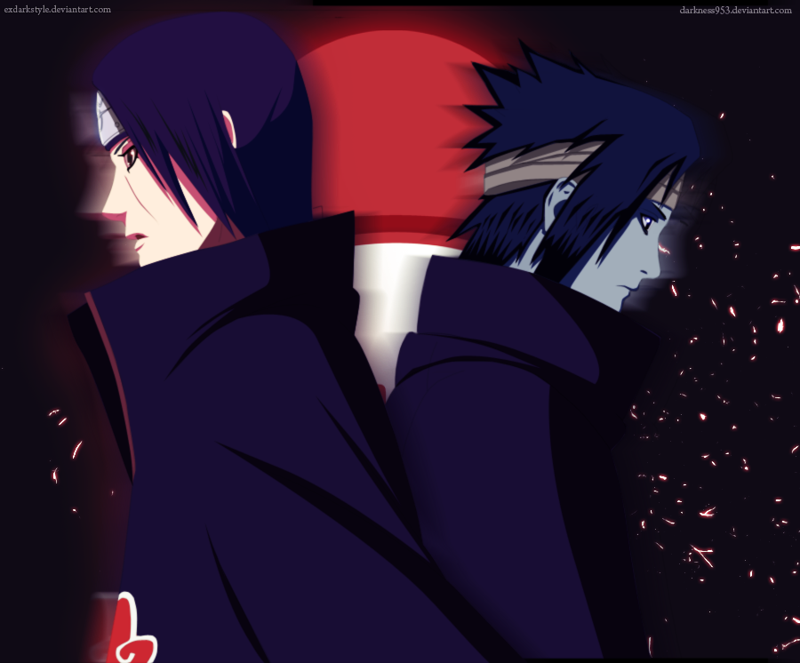 Itachi vs Sasuke by exdarkstyle on DeviantArt
