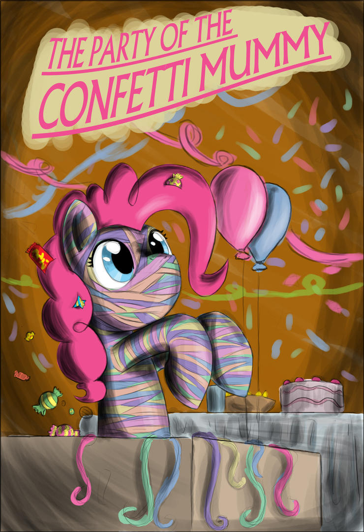 Confetti Mummy by otakuap
