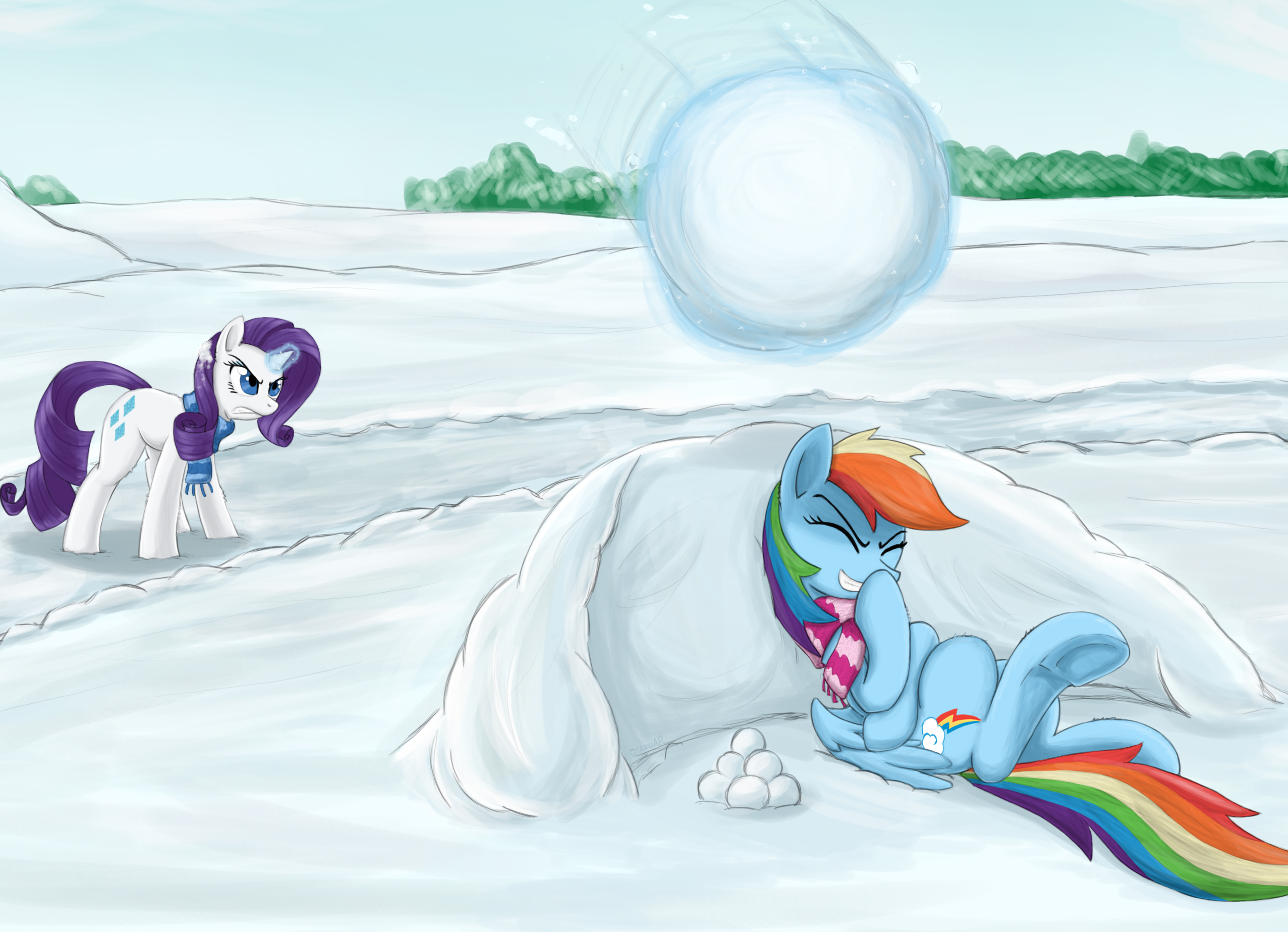 Snowball by otakuap
