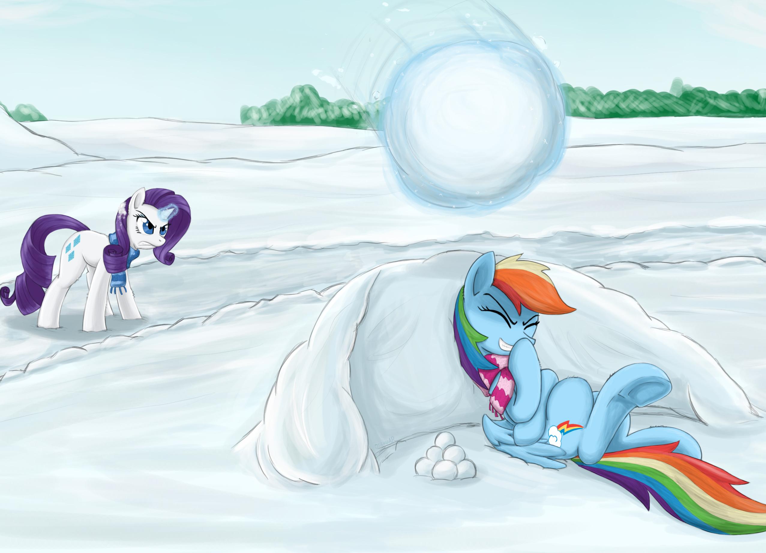 Snowball by otakuap