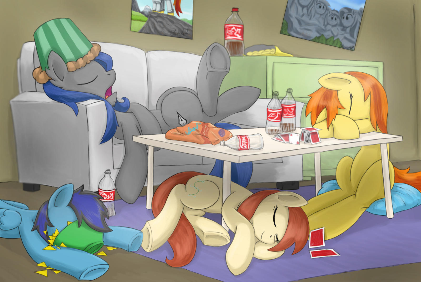 CAC's Morning after by otakuap