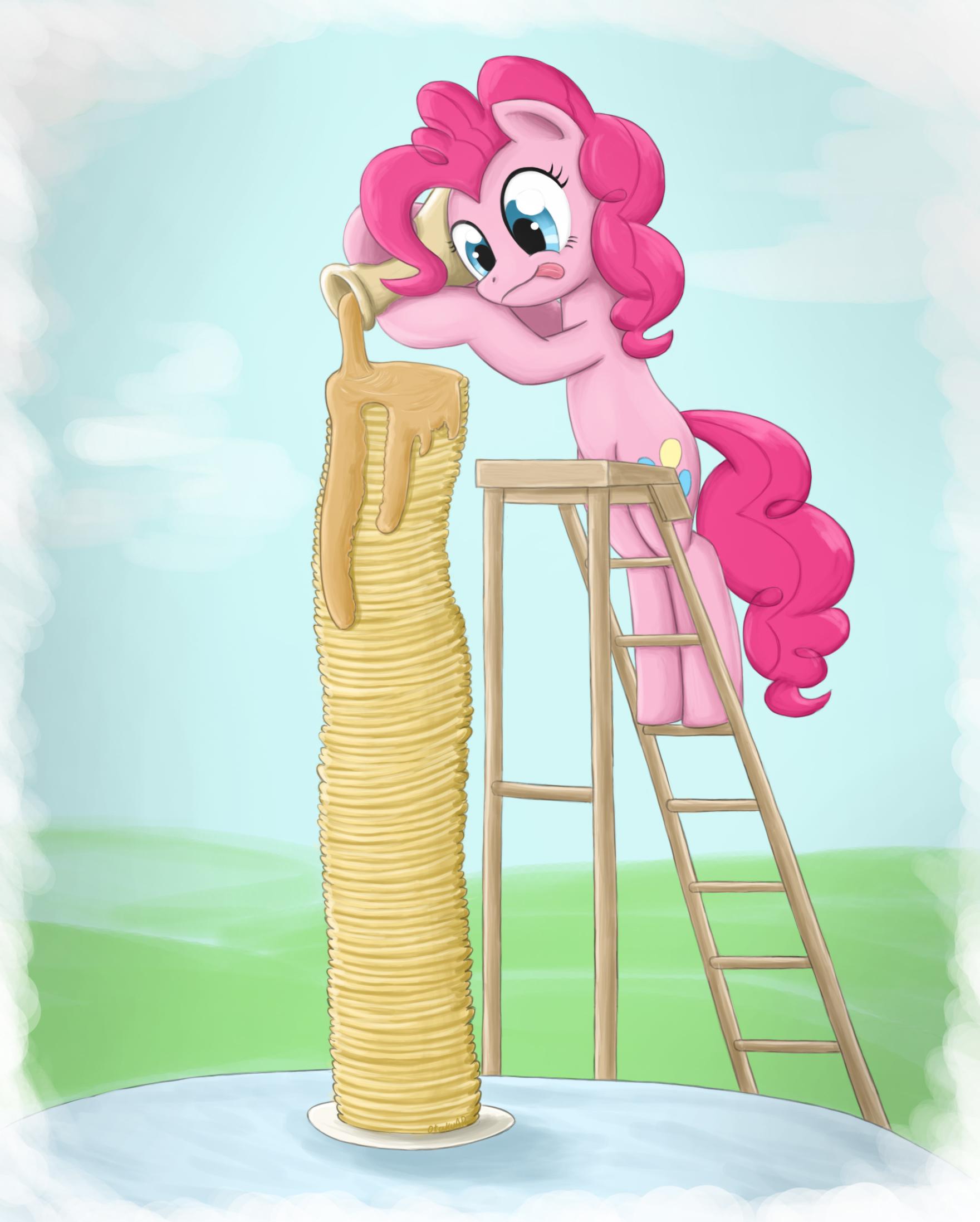 Pinkie pie's Pancake Dream by otakuap