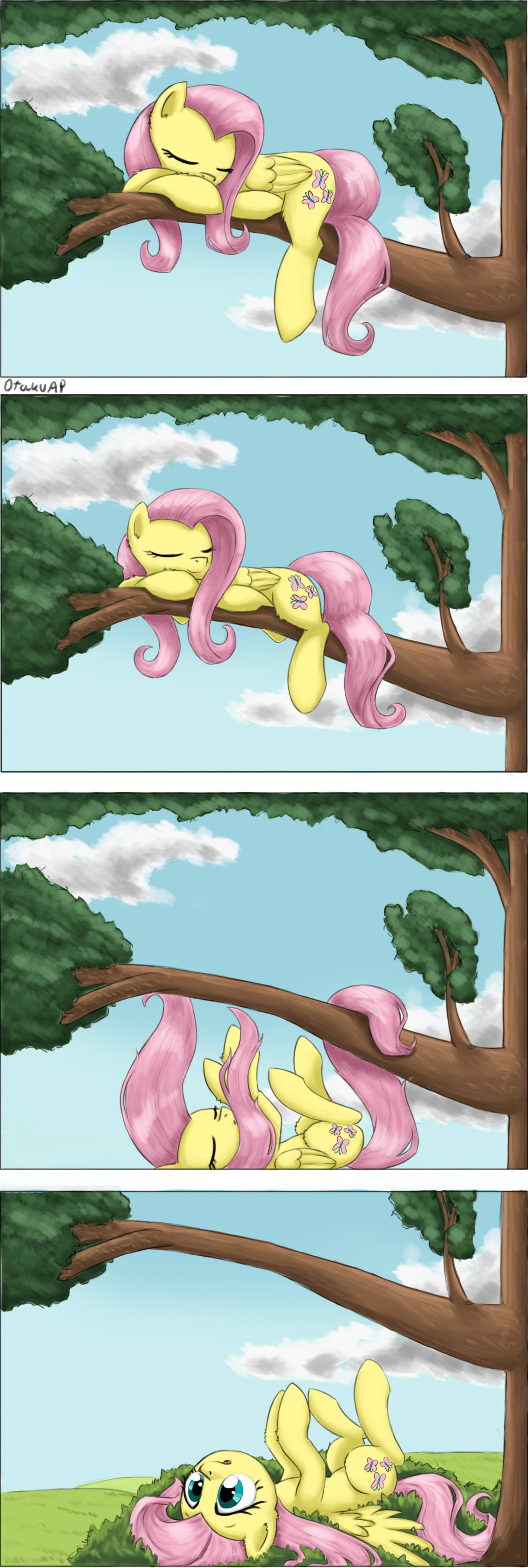 Fluttercomic by otakuap