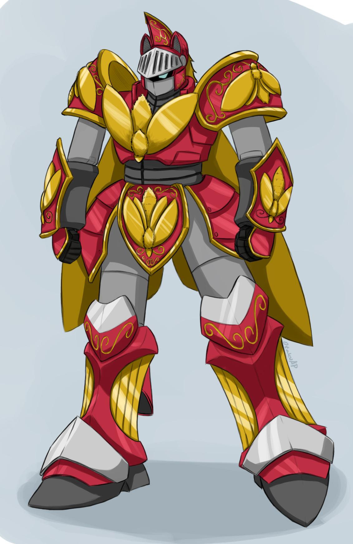 Ponymecha (humanoid mode) by otakuap