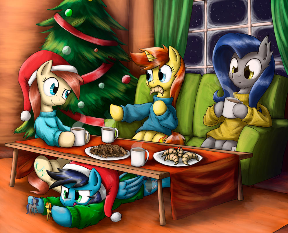 a cozy evening by otakuap