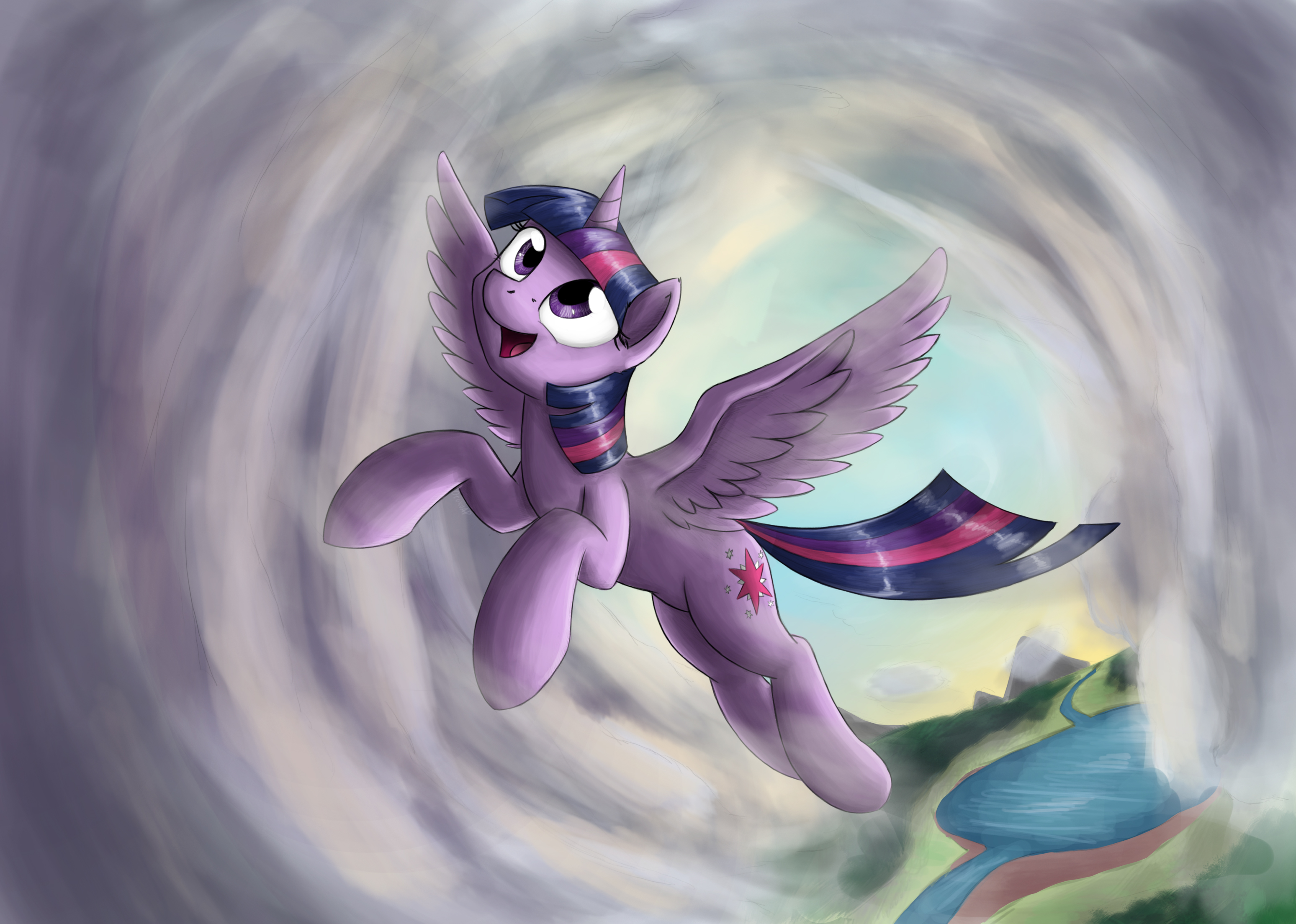 Morning Flight by otakuap