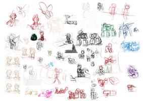 Sketch Dump by otakuap