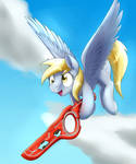 Now it's derpy time.