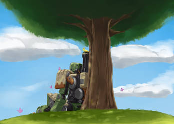Bastion by otakuap