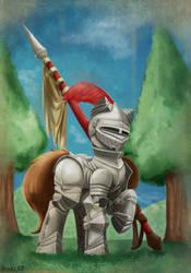 Armour Pony by otakuap