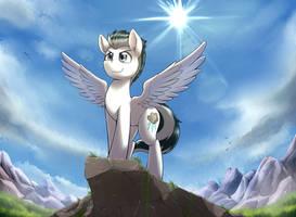 Pony On A Rock by otakuap