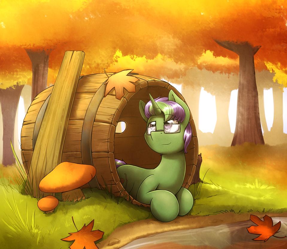Barrel Pony by otakuap