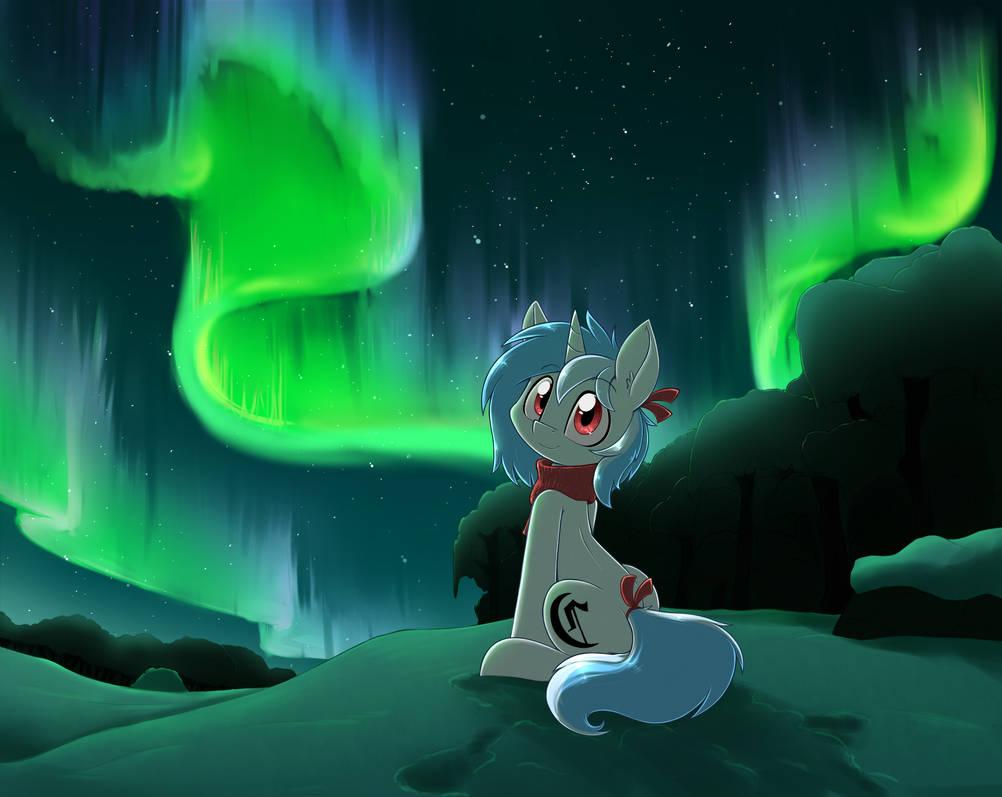 Aurora pony by otakuap