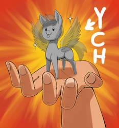 Tiny Pony On Hand Ych (closed)
