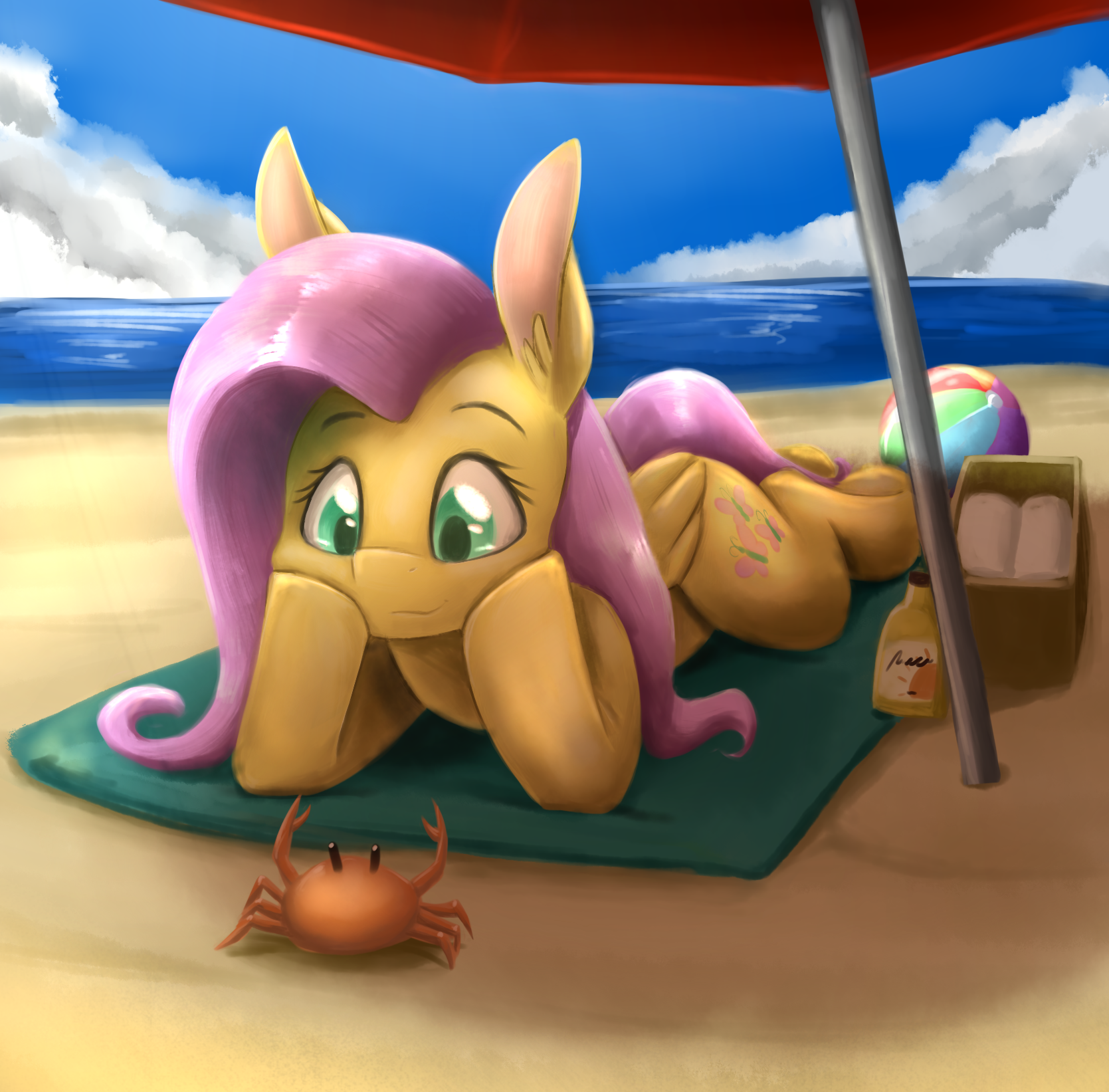 Beach Pony by otakuap