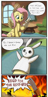 Bunny Puppet by otakuap