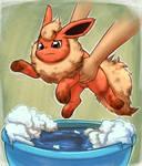 Flareon Bath