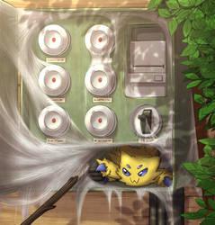 Joltik Nest by otakuap