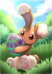 Easter Buneary by otakuap