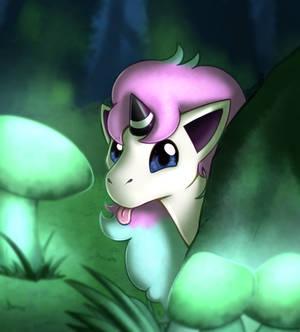Ponyta blep
