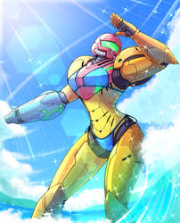 Samus two piece