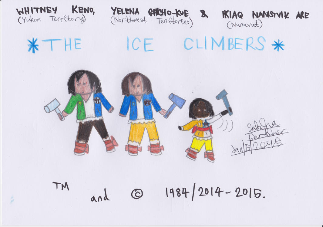 (AMUA) Territories As Ice Climbers by TheRealCanadianBoys